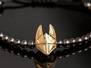bratara-argint-barbati-link-gold-mask1